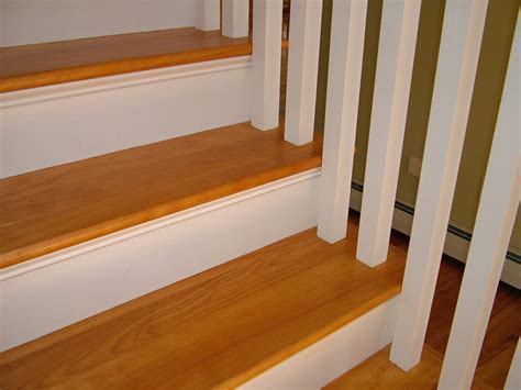 Oak Stair Treads Laminate ? New Home Design : Affordable