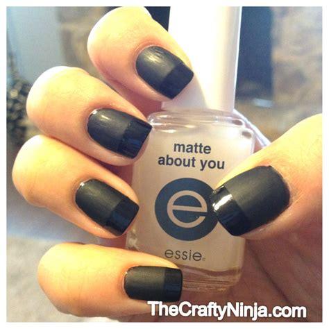 matte about you essie essie matte manicure tips the crafty