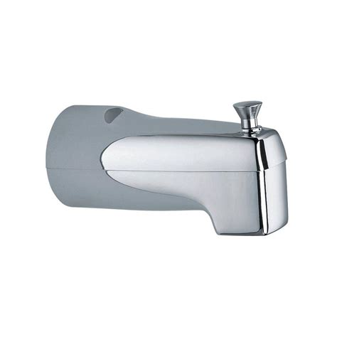 moen bathtub spout moen chateau diverter tub spout with ips connection in