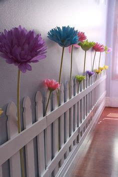 Picket Fence Bedroom Decorating Ideas by Picket Fence Wall Decor Decorating Butterfly