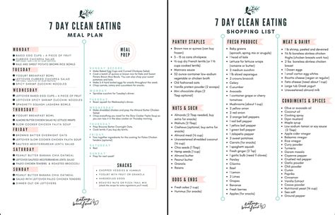 sle meal plan grocery shopping list for the 21 day fix 7 day healthy meal plan shopping list eating bird food