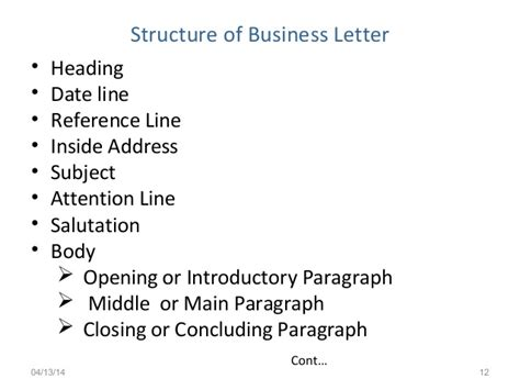 Reference Line In Business Letter Definition Business Letters Ksv