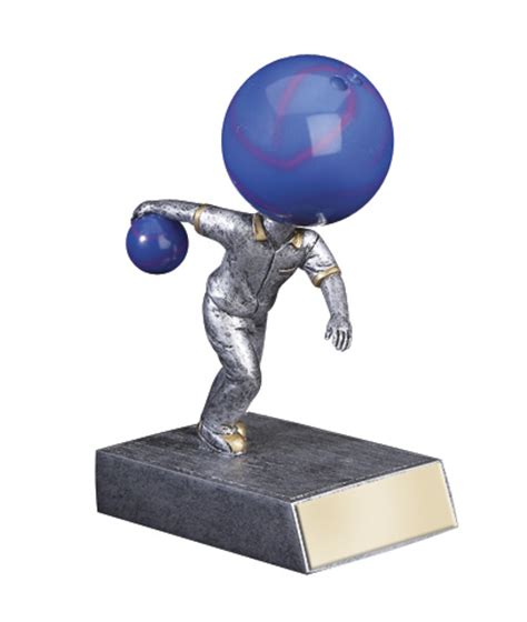 bobblehead t trophies bobblehead bowling trophy includes engraved plate