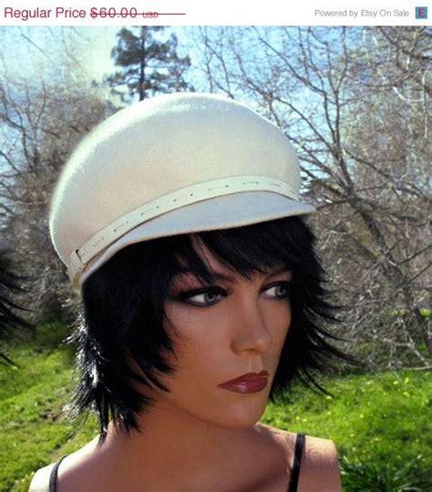 audrey hepburn hairstyles instructions amazing audrey hepburn style mod 60s winter white felt