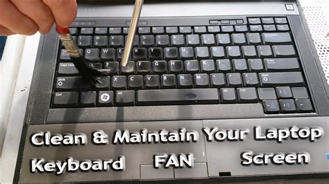 how to clean laptop fan how to clean the dust from the inside of your macbook