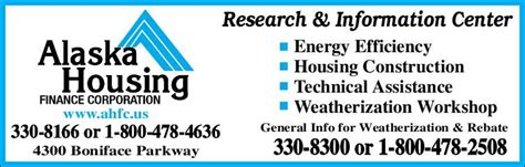 alaska housing finance corporation alaska housing finance corporation anchorage ak 99504 yp com