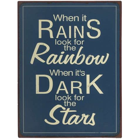 When It Rains Metal metallikyltti when it rains cornelia
