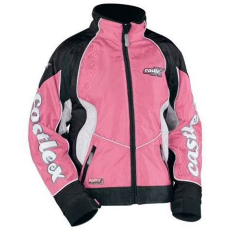 Colar Parka Shocking Ping castle x s xl snowmobile jacket pink switch 2009