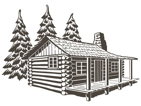wood house coloring pages wooden house log cabin coloring ubdab coloring page log