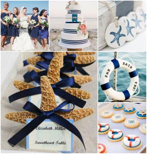 tischdeko navy navy blau strand sommer hochzeit kollektion