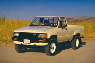 Toyota Up 1985 Toyota Planning Back To The Future Tribute Tacoma
