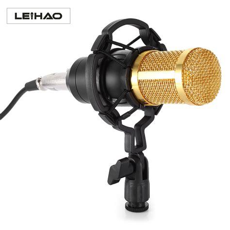 Audio Condenser Microphone Studio Sound Shock Mount Bm 800 bm 800 condenser microphone studio sound vocal recording microphone broadcast and studio shock