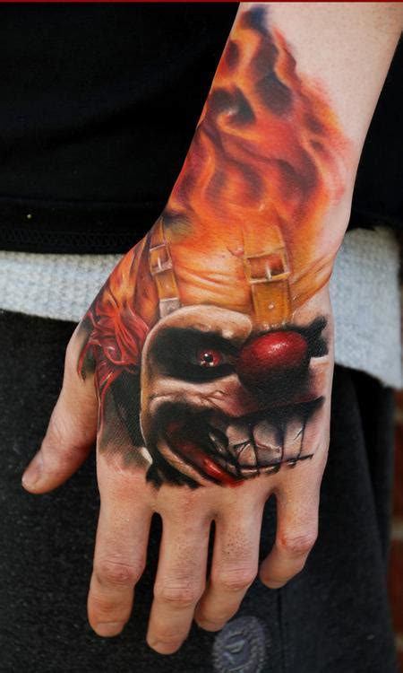 twisted metal tattoo twisted metal alliance temporary forum post your