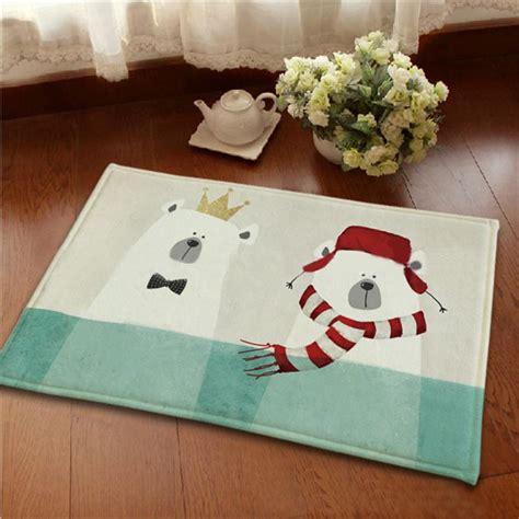 100 home warehouse design center big bear living lovely polar bear printed carpet anti slip floor mats