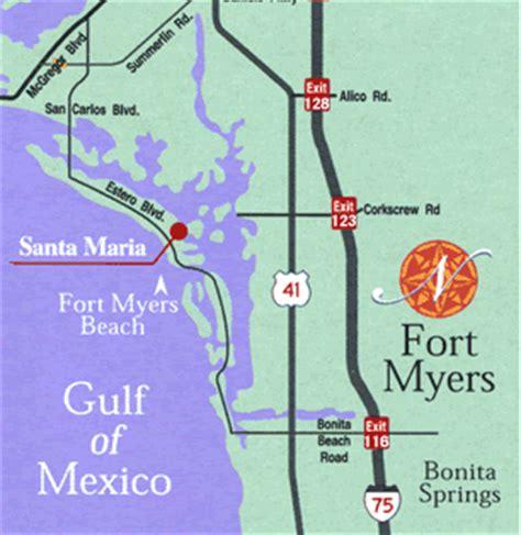 Fort Myers Beach FL Santa Maria Harbour ResortNestled just across from Fort Myers Beach on