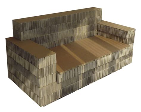 cardboard sofa comfy cardboard cardboard seating designed by giovanni