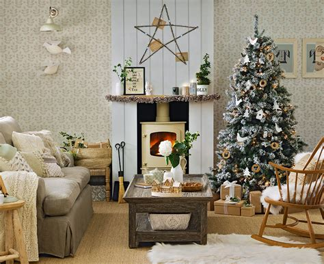 free decorating ideas rustic christmas decorating ideas for a scandi style christmas