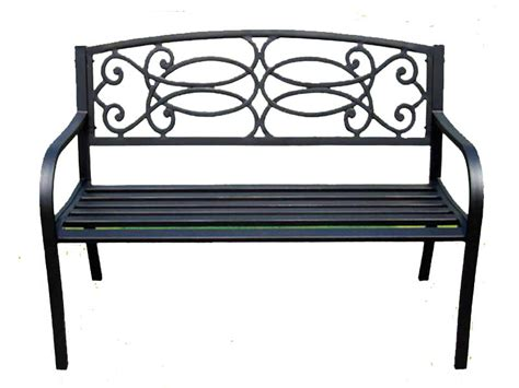 3 seater metal garden bench new 3 seater bench outdoor garden metal wood slatted