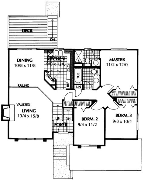 split plan house floor plan of a split level home home plan