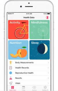 Up your health data open the health app and tap health data to set up