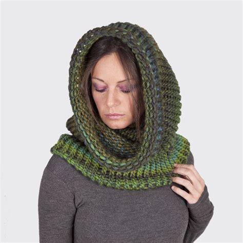 como hacer gorros tejido de colombiana cuello capucha de lana tejido a mano cuellos bufandas