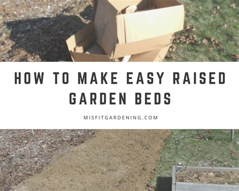 how to build a raised bed how to make a raised garden
