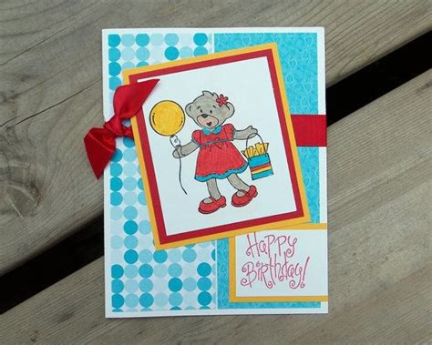 Childrens Handmade Birthday Cards - 17 best images about childrens birthday on