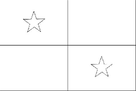 panama flag coloring page