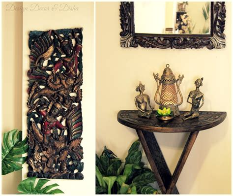 diy home decor indian style design decor disha an indian design decor home tour kapila banerjee