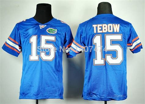youth blue tim tebow 15 jersey brilliant p 1052 the 15 tim tebow florida gators blue
