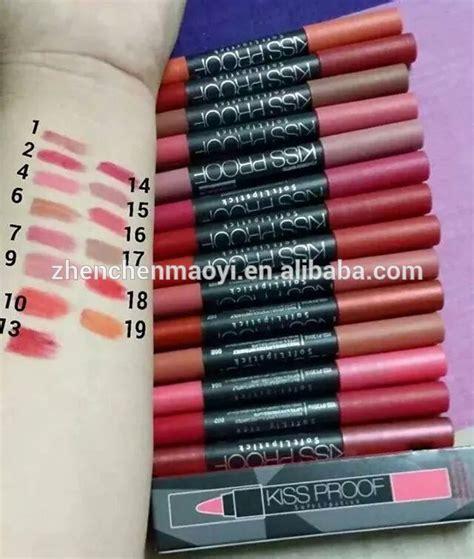 Menow Proof No 08 Matte menow 19color matte lipstick pencil cosmeticskiss proof