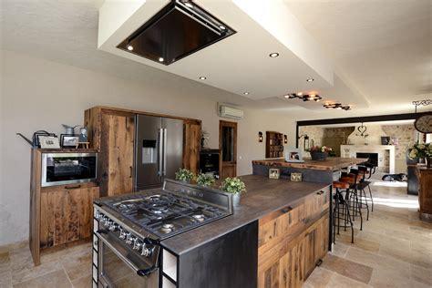 Cuisine Style Atelier Industriel 3425 by Inspiration Industrielle En Cuisine Cuisines Et Bains