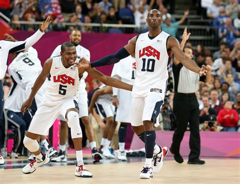 basketball olympic 2012 bryant and kevin durant photos photos olympics day