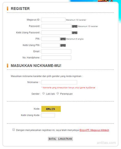 cara membuat form register html cara mendaftar atau membuat akun game closers online