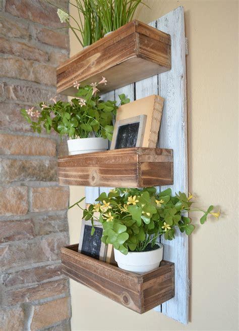 Diy Wooden Wall Planter Little Vintage Nest Hanging Planter Boxes