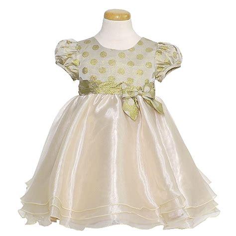 bonnie jean toddler gold dot dress toddler