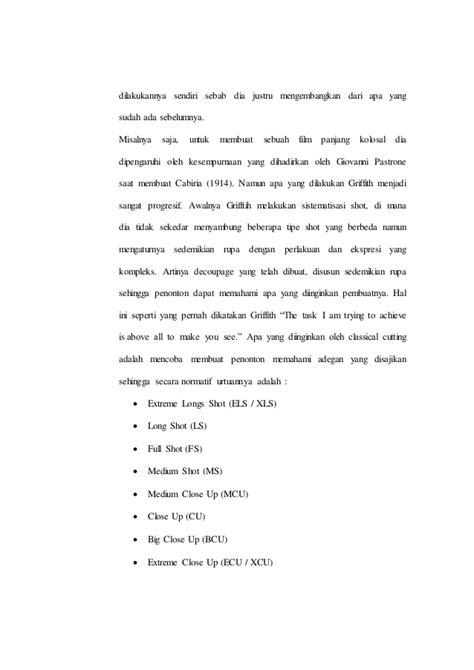 makalah membuat film makalah masa awal editing