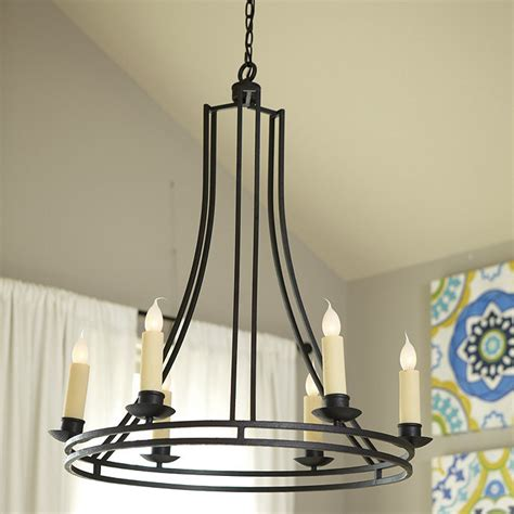 ballard design lighting elton 6 light chandelier ballard designs