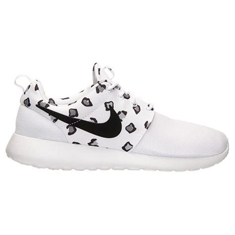 real for cheap womens nike roshe one leopard print shoes