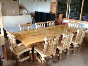 handmade log furniture by the amish hook up custommade