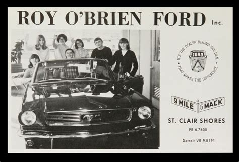 roy obrien ford mcrfb commercials vault roy o brien ford 64