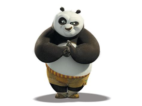 Kaos 3d Kungfu Panda White hd kung fu panda background wallpaper free 140285
