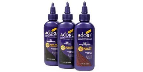 adore plus semi permanent color sleekhaircom hair view adore plus products