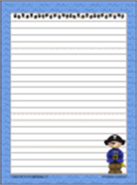 pirate writing paper all kinds of free notebooking resources at that resource site