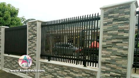 tips memilih model pagar rumah minimalis alam sakti