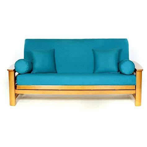 futon shopping teal full size futon cover overstock shopping the