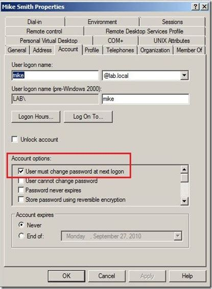 reset user data tool microsoft uc and other stuff exchange 2010 sp1