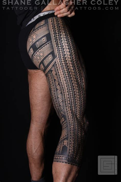 tribal tattoos leg sleeve 524 best images about maori polynesian design on