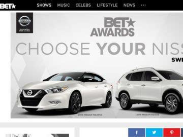 Game Awards 2016 Giveaway - 2016 choose your nissan bet awards sweepstakes
