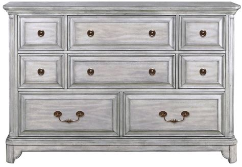 Grey Wood Dresser by Weathered Grey Wood Drawer Dresser From